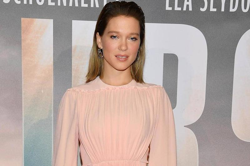 Léa Seydoux attends 'Kursk' Paris Premiere at La Cite Du Cinema on 25 October, 2018 in Saint-Denis, France. (Photo by Pascal Le Segretain/Getty Images)