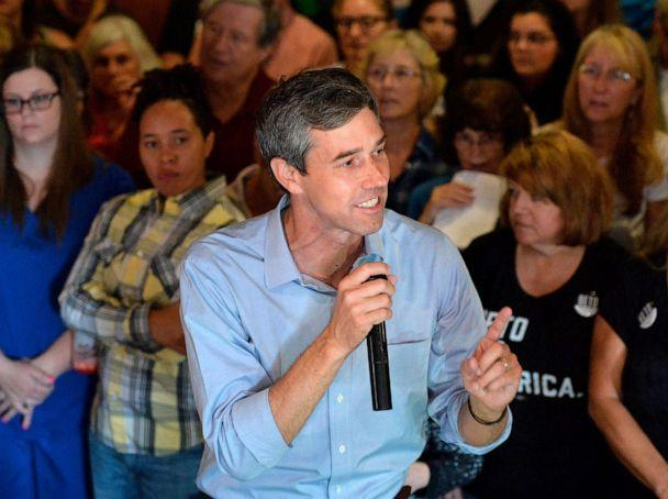 PHOTO: People pack Lavery Brewing Co. to hear Democratic presidential candidate Beto O'Rourke during a town hall event Thursday, Sept. 26, 2019 in Erie, Pa. (Christopher Millette/Erie Times-News via AP)