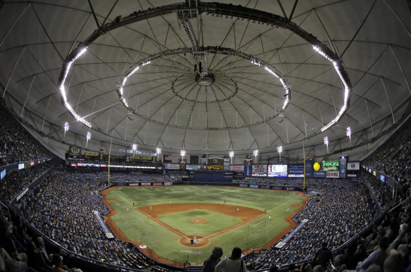 Rays announce plan to reduce seating at Tropicana Field