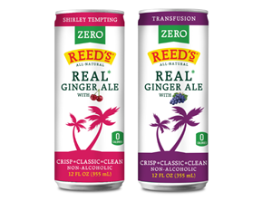 America's #1 ginger company expands its Really REAL Ginger Ale line with duo of new, all-natural varieties