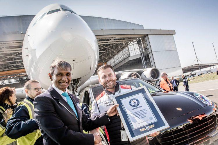 Porsche Cayenne Guinness World Record
