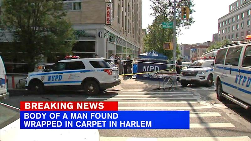 Body of Man Found Rolled Up in Carpet Outside of NYC Starbucks with His Feet Sticking Out