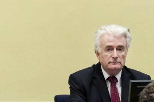 Former Bosnian Serb leader Radovan Karadzic will spend the rest of his life behind bars for the bloodshed which ripped his country apart in the 1990s