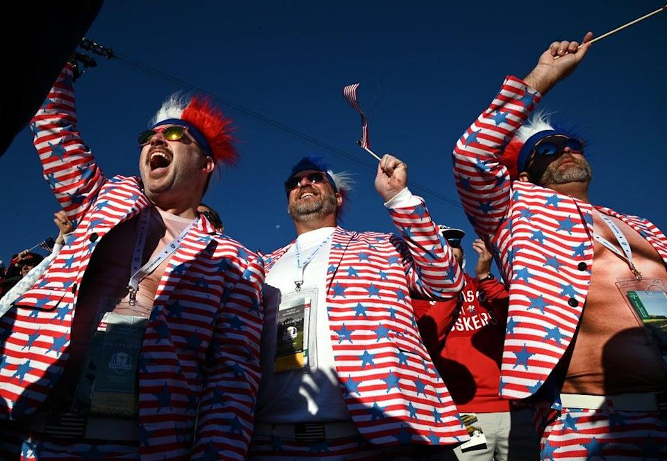 USA fans had plenty to cheer at the Ryder Cup (Anthony Behar/PA) (PA Wire)
