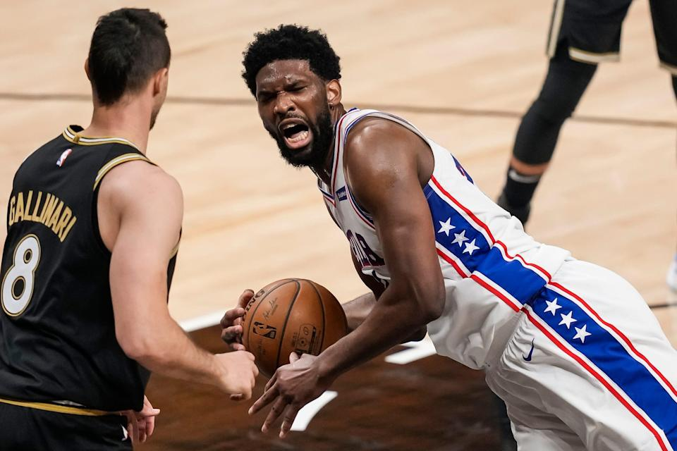 Joel Embiid and the Sixers will host Game 7 on Sunday.