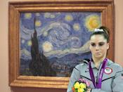 McKayla Maroney is not impressed with Van Gogh.