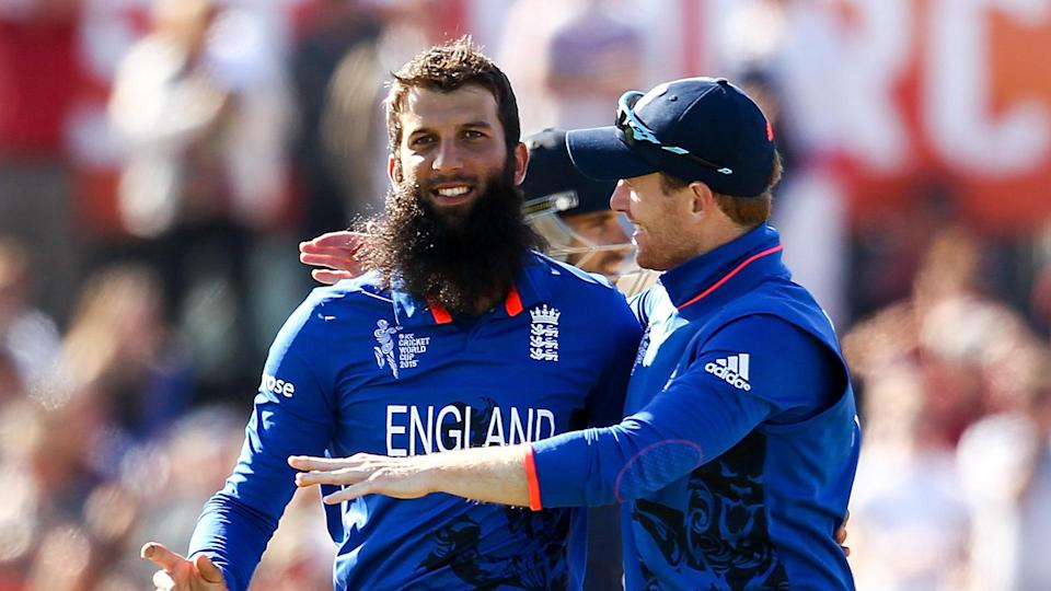 Eoin Morgan and Moeen Ali ( Photo- Getty)