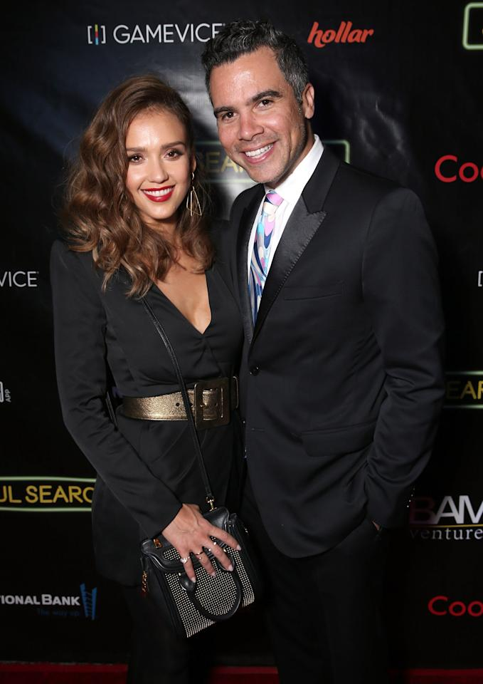 """""""You are the calm and voice of reason, always keeping things in perspective and seeing the beauty and light in every circumstance. I love you more than words could explain and I'm so proud to be your partner in life.""""  — on husband Cash Warren, on <a href=""""http://people.com/movies/jessica-alba-pens-sweet-tribute-to-husband-on-his-birthday/"""">Instagram</a>"""