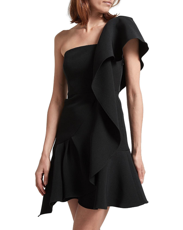 SABA Sara One Shoulder Dress - $349