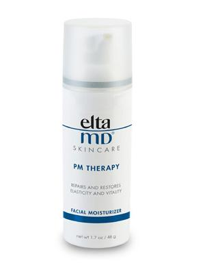 """<div class=""""caption-credit""""> Photo by: courtesy of the brand</div><div class=""""caption-title""""></div><b>Favorite night cream:</b> """"I use EltaMD PM Therapy Facial Moisturizer at night."""""""