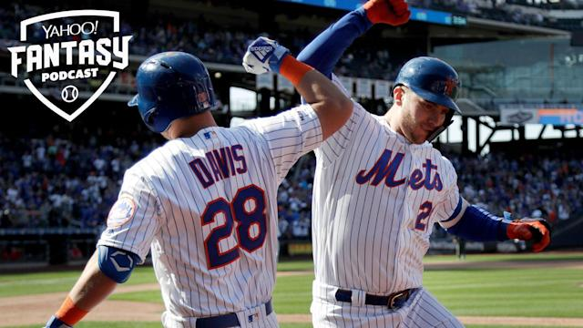 The New York Mets are off to another fast start thanks to the bat of 1B Pete Alonso. Scott Pianowski and D.J. Short discuss if these Mets are for real and if you can expect season-long fantasy success from the likes of Alonso and SP Steven Matz. (AP Photo/Julio Cortez)