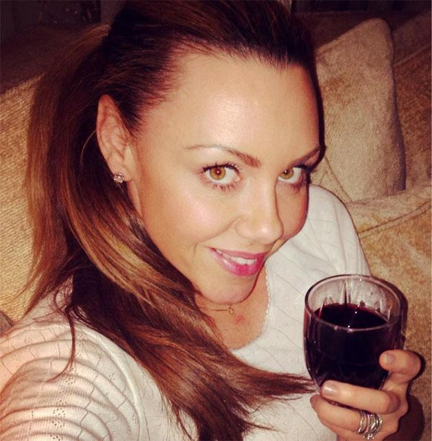 Celebrity Twitpics: Michelle Heaton is one busy lady at the moment as she prepares to take part in a new TV show, Big Reunion, which reunites some of our favourite nineties pop groups, including Liberty X. She tweeted this photo of herself enjoying a glass of wine at the end of a long day.