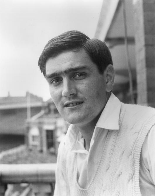 29th July 1964:  CHECK HI-RES IF SUPPLYING DIGITALLY England and Glamorgan cricketer Tony Lewis.  (Photo by Central Press/Getty Images)
