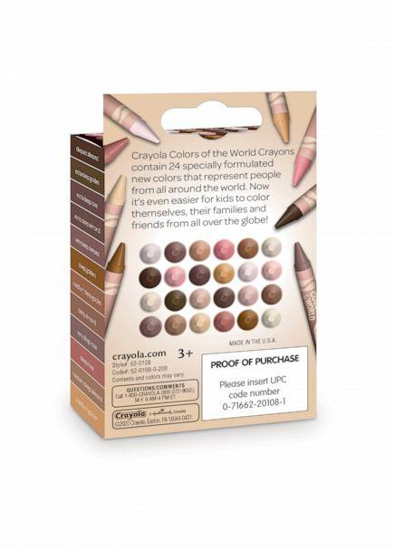 PHOTO: Crayola launches skin tone crayon colors for kids to find shades that best represent themselves. (Crayola)