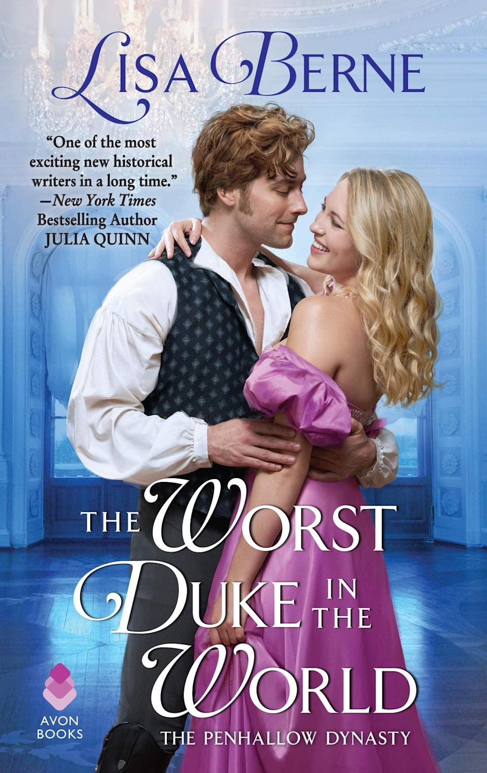 <p>Attention <strong>Bridgerton</strong> fans, if you're ready to delve deeper into the world of historical romances, <span><strong>The Worst Duke in the World</strong></span> by Lisa Berne is a fun place to start. The book follows Anthony Farr, the Duke of Radcliffe, who has vowed never to remarry. However, when the very eligible and genuinely loving Jane Kent befriends his 8-year-old son his resolve begins to crack. </p> <p><em>Out Jan. 12</em></p>