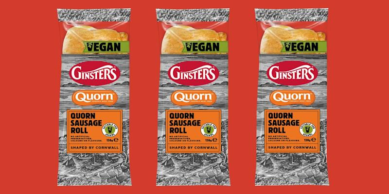 Photo credit: Ginsters & Quorn