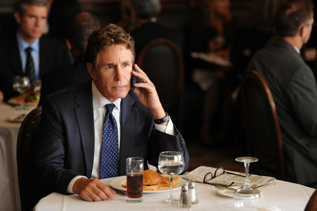 "John Shea as Nestor Agos, Cary's stern father in ""Anatomy of a Joke,"" the seventh episode of ""The Good Wife"" Season 4."
