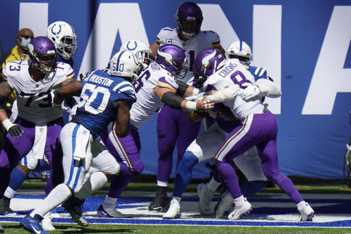 Indianapolis gets back on track with defense, running game