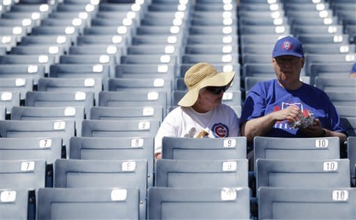 Dempster helps Cubs beat Brewers split-squad 6-1