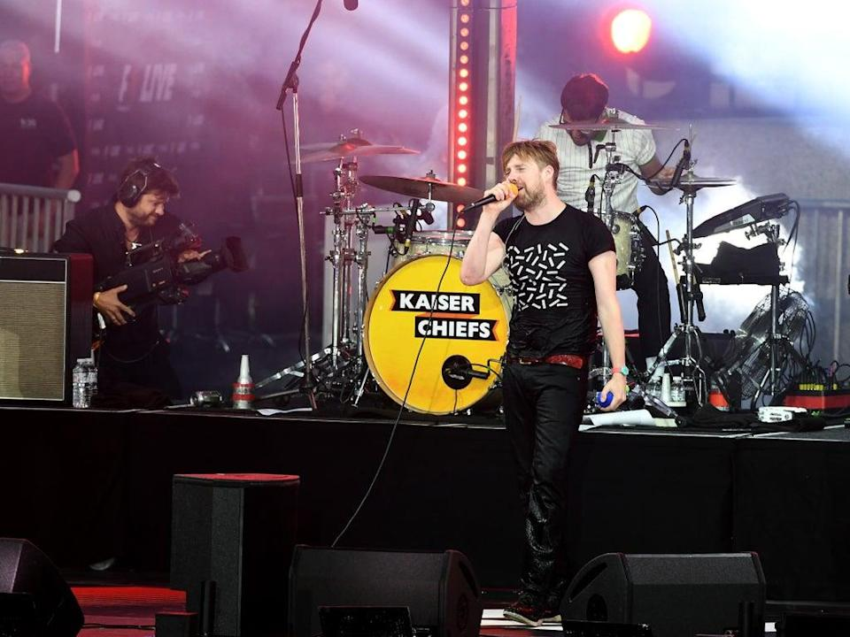 """'Some denounced the band as """"evil in plain sight"""" – if they were a death metal band, they'd be delighted'  (Getty Images for Formula 1)"""