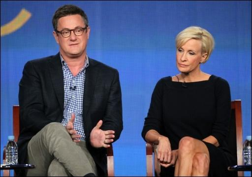 Die Moderatoren Joe Scarborough und Mika Brzezinski