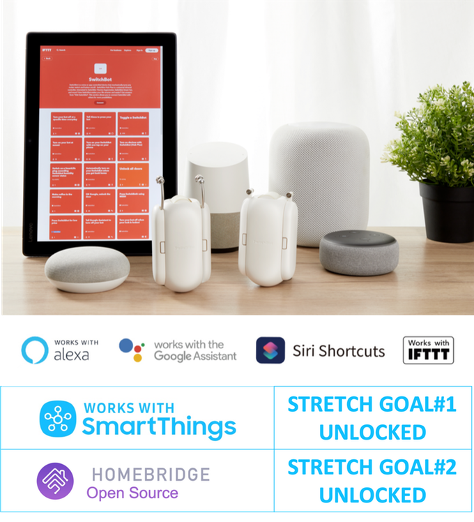 The SwitchBot smart curtain attachment and accompanying mobile app