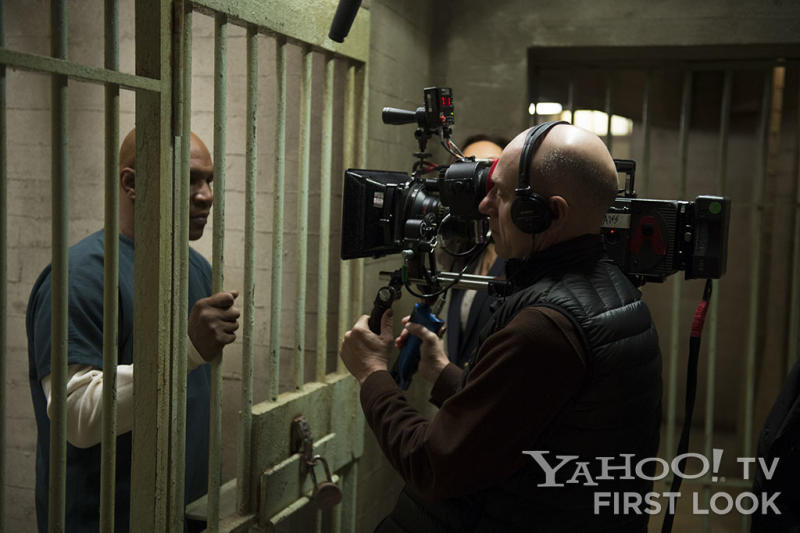 """LAW & ORDER: SPECIAL VICTIMS UNIT -- """"Monster's Legacy"""" Episode 1414 -- Pictured: Mike Tyson as Reggie Rhodes"""