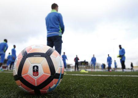 Britain Football Soccer - Sutton United Media Day - FA Cup Fifth Round Preview - The Borough Sports Ground - 16/2/17 General view of The Borough Sports Ground during the media day  Action Images via Reuters / Matthew Childs Livepic