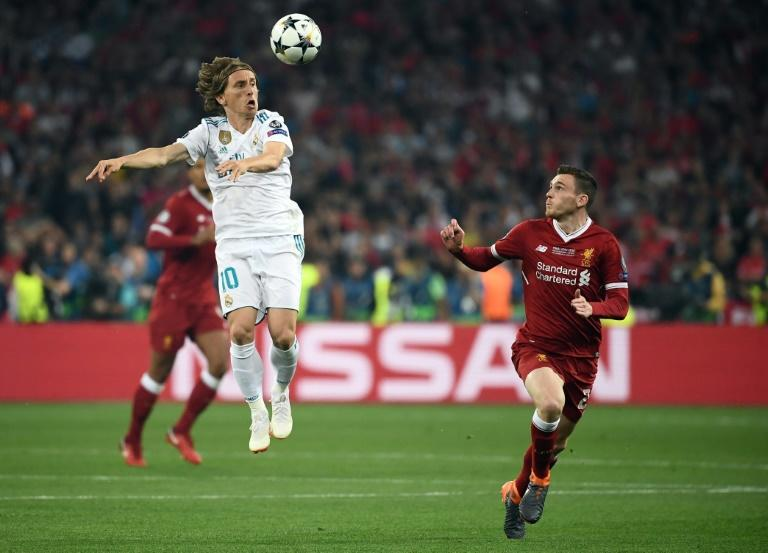 Modric bossed the Champions League final to help Real see off Liverpool and land a third straight crown