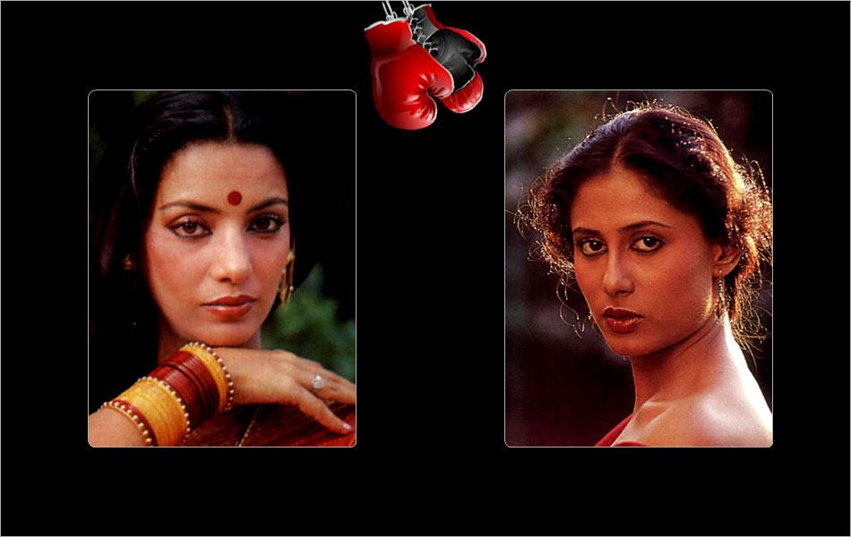 In the art circuit Shabana Azmi and Smita Patil were always contesting for the top rank in their own dignified way. In 'Arth' when they confronted each other as the wife and the other woman, it made for quite an entertaining watch.