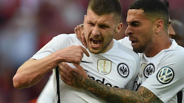 The striker scored twice in the DFB-Pokal final as the Bundesliga champions were stunned by a 3-1 defeat