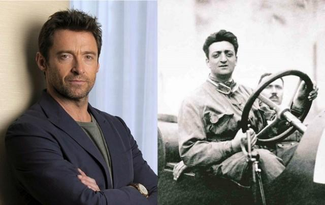 Hugh Jackman plays Enzo Ferrari