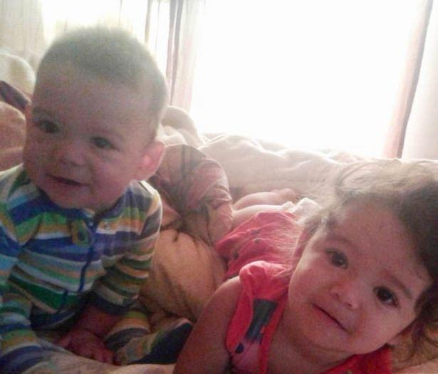 Juliet Ramirez, two, and one-year-old Cavanaugh Ramirez were killed (Picture: Reuters)