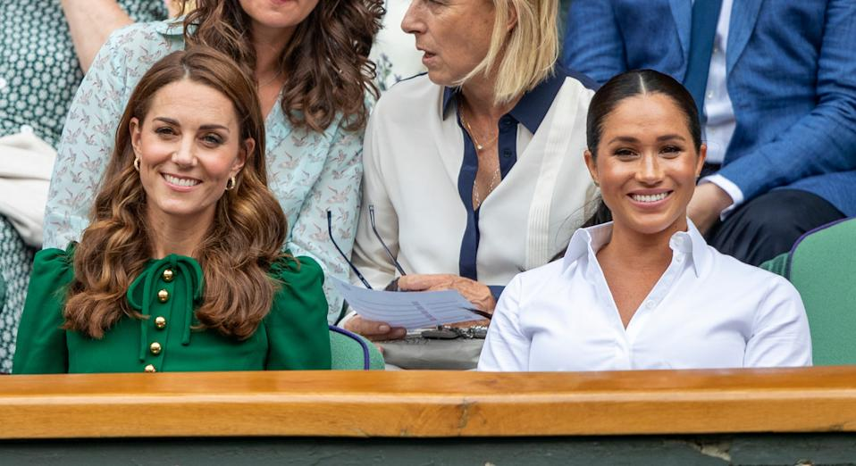 Kate Middleton has an unlikely connection to Meghan Markle's Smart Works collection [Image: Getty]