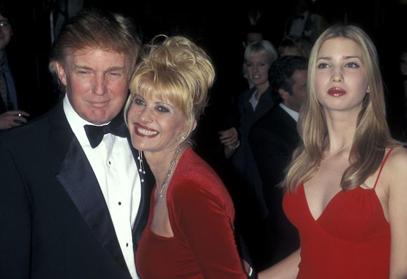 Donald Trump, Ivana Trump, and Ivanka Trump (Photo by Ron Galella/Ron Galella Collection via Getty Images)