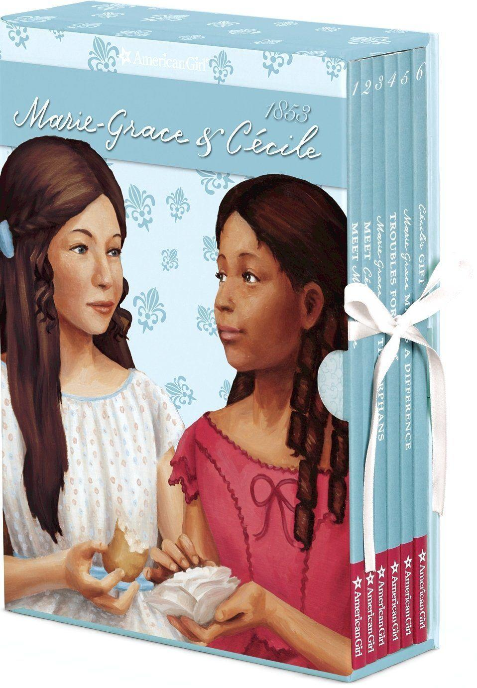 <p>Now retired, this pair of dolls were released as equals (instead of the typical main character and best friend sidekick doll). This duo of friends lives in New Orleans in the 1850s. Together, these friends cope with the yellow fever that is ravaging their community. Cécile speaks French and was only the second Black character made by American Girl.</p>