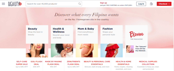 Online Shopping Sites Philippines - BeautyMNL