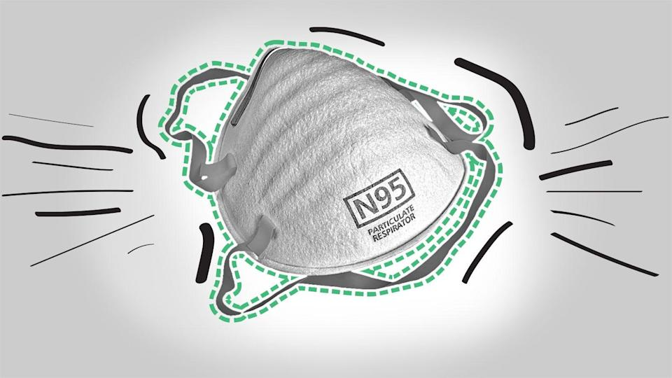 The U.S. supply of N95 masks was already running low when the pandemic reached our shores last spring and persisted well into the summer of 2020. As a result, medical professionals resorted to reusing the ones they had on hand for months.