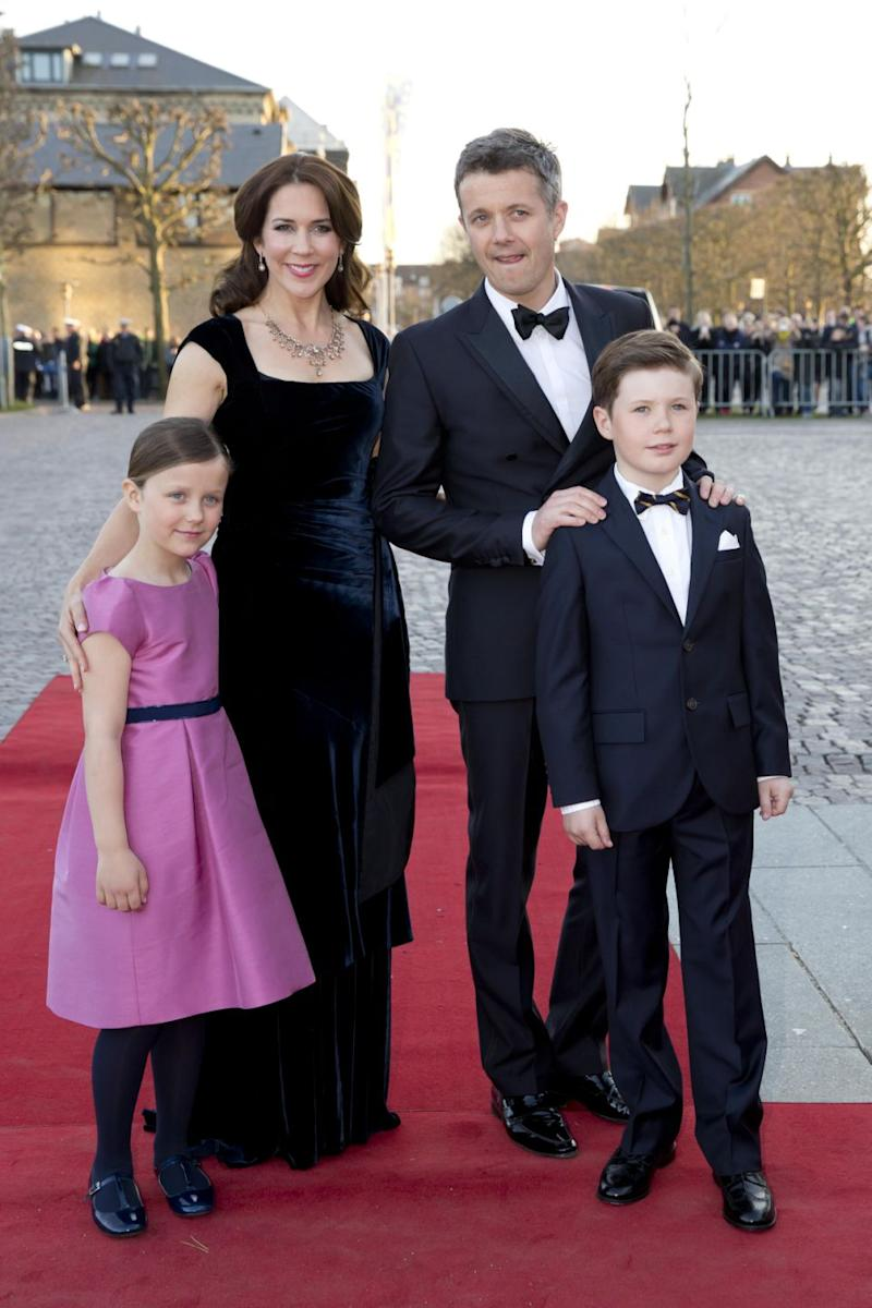 The couple went on to have four adorable kids together. Photo: Getty Images