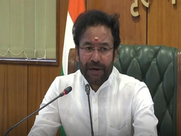 Union Minister of State for Home G.Kishan Reddy (Photo/ANI)