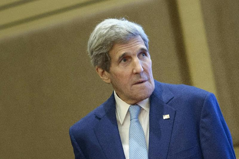 US Secretary of State John Kerry attends an Association of Southeast Asian Nations (ASEAN) meeting in Kuala Lumpur, on August 6, 2015 (AFP Photo/)