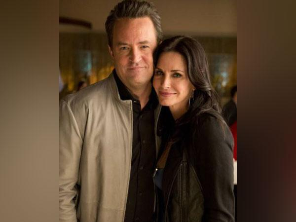 Matthew Perry and Courteney Cox (Image source: Instagram)