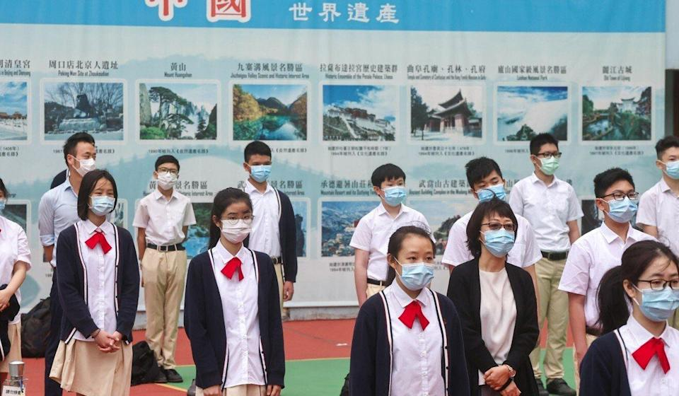 Authorities are urging schools in Hong Kong to infuse elements of national security into teaching materials. Photo: K.Y. Cheng