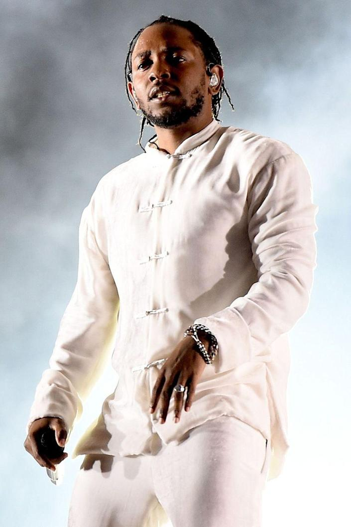 """<p>In his 2013 Rapper of the Year profile with <a href=""""http://www.gq.com/story/kendrick-lamar-men-of-the-year-rapper"""" rel=""""nofollow noopener"""" target=""""_blank"""" data-ylk=""""slk:GQ"""" class=""""link rapid-noclick-resp""""><em>GQ</em></a>, it was revealed that Lamar doesn't drink alcohol or do drugs, despite many of the lyrics in his songs. The rapper grew up in a household of substance abuse and would rather be an advocate for those living in sobriety. </p>"""