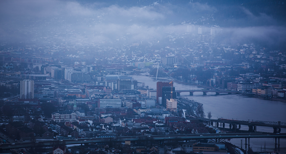 The Norwegian city of Drammen (pictured) has recorded its hottest ever September day. Source: Getty / File