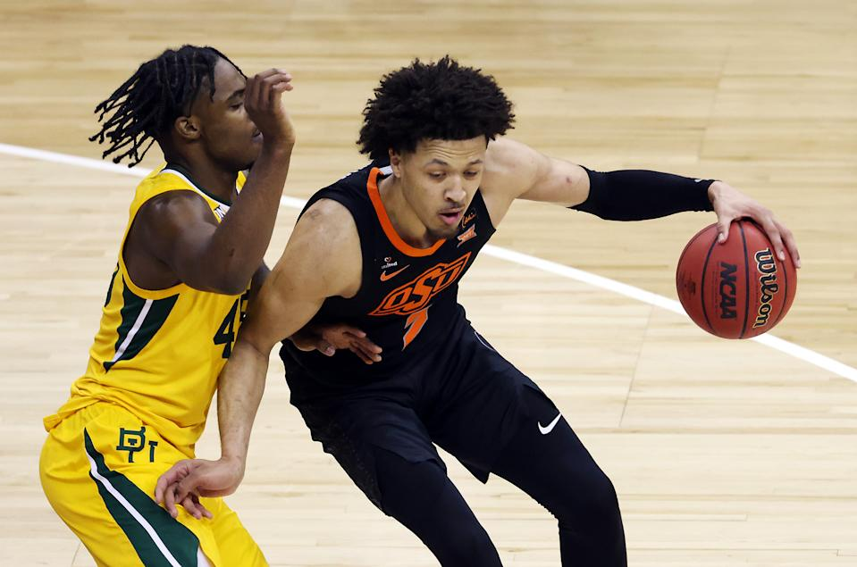 A report said Cade Cunningham was locked into the first overall pick, and sportsbooks scrambled after that. (Photo by Jamie Squire/Getty Images)