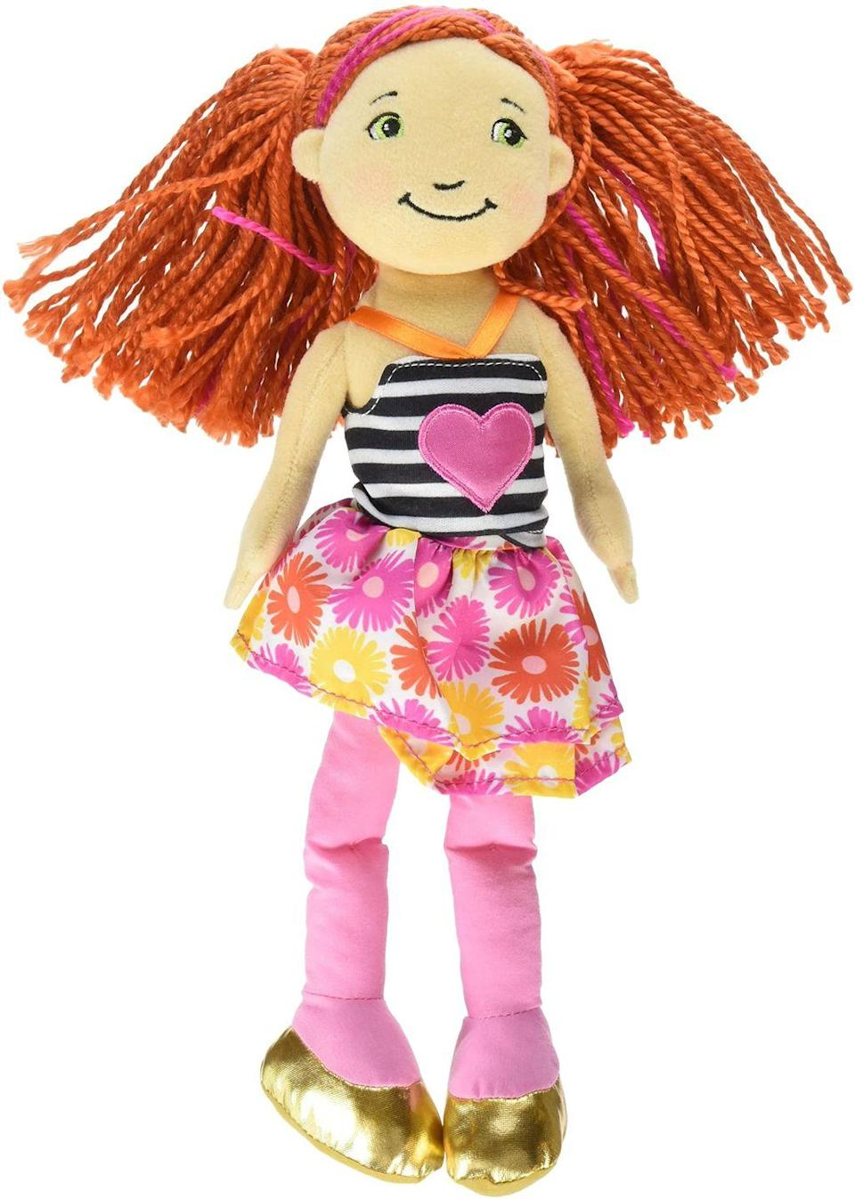 "<p>The more conservative doll of the bunch originally retailed in Target stores for anywhere between $15 to $20. As of 2019, no new dolls are being made, so it's the perfect time to sell the ones you have hidden somewhere in your attic. <a href=""https://www.ebay.com/itm/groovy-girls-dolls/184240886231?hash=item2ae59cd1d7:g:3RkAAOSwRHleih9s"" rel=""nofollow noopener"" target=""_blank"" data-ylk=""slk:A set of five"" class=""link rapid-noclick-resp"">A set of five</a> goes for over $100. </p>"