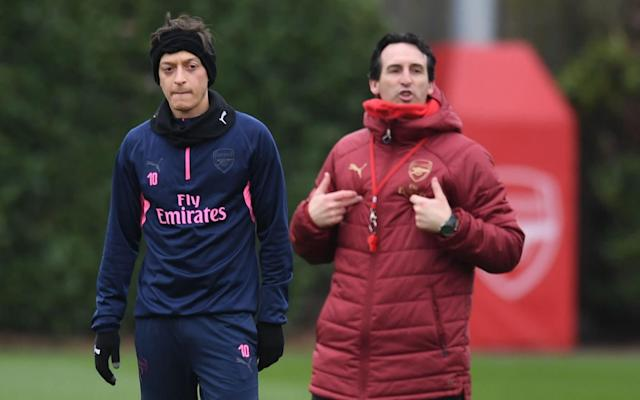 Unai Emery didn't pick Mesut Ozil for League Cup quarter-final against Spurs due to tactical reasons - Arsenal FC