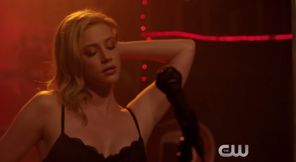 Teenage Betty Cooper gave a controversial performance on <em>Riverdale</em> this week. (Photo: CW)