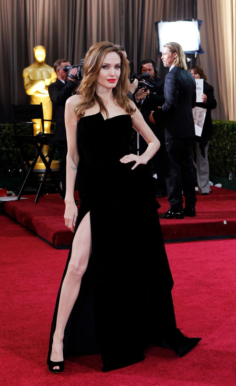 The dress that sparked a thousand dreams. Who could forget the Angelina Jolie pose? However, what we should really remember is this Atelier Versace velvet gown tied into a bow. It's simple, effective, and we can imagine Versace remaking this in 2028.